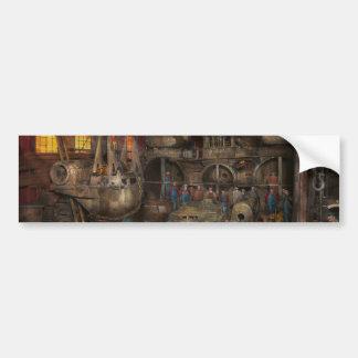 Steampunk - Final inspection 1915 Bumper Sticker