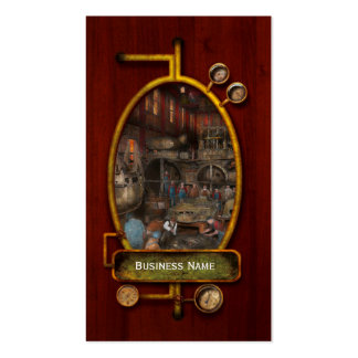 Steampunk - Final inspection 1915 Double-Sided Standard Business Cards (Pack Of 100)