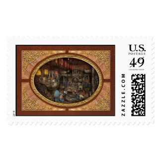 Steampunk - Final inspection 1915 Stamp