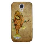 Steampunk Fish Galaxy S4 Case
