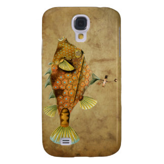 Steampunk Fish Samsung Galaxy S4 Cover