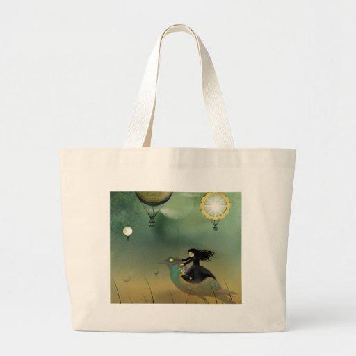 Steampunk Flight Canvas Bags