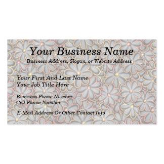 Steampunk Flower Power Business Card