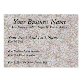 Steampunk Flower Power Business Card Template