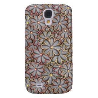 Steampunk Flower Power Samsung Galaxy S4 Case