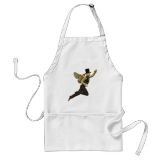 Steampunk Flyer Taking Off Adult Apron