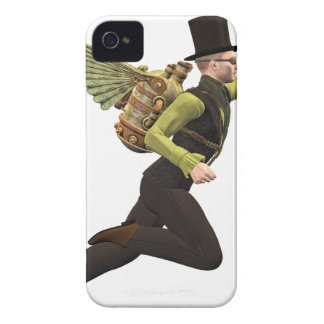 Steampunk Flyer Taking Off iPhone 4 Cover