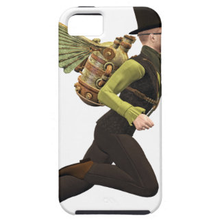 Steampunk Flyer Taking Off iPhone SE/5/5s Case