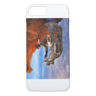 Steampunk Flying Machine iPhone 7 Case