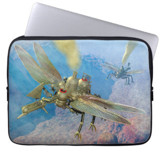 Steampunk Flying Machines Computer Sleeves
