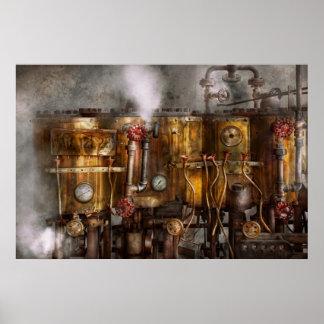 Steampunk - fontanería - aparato de Distilation Impresiones