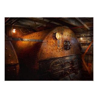 Steampunk - fontanería - el hogar de un fogonero comunicados personalizados