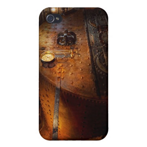 Steampunk - fontanería - el hogar de un fogonero iPhone 4/4S carcasa