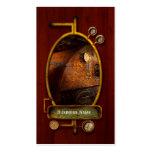 Steampunk - fontanería - el hogar de un fogonero tarjetas de visita