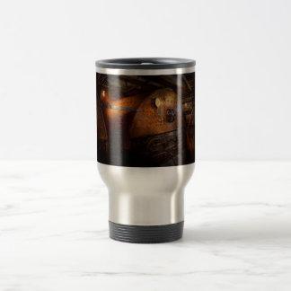 Steampunk - fontanería - el hogar de un fogonero tazas de café