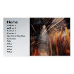 Steampunk - fontanería - el vestíbulo tarjetas de visita