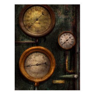 Steampunk - fontanería - éxito que calibra tarjeta postal