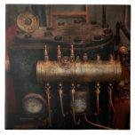 Steampunk - fontanería - la matriz de la válvula azulejo cerámica