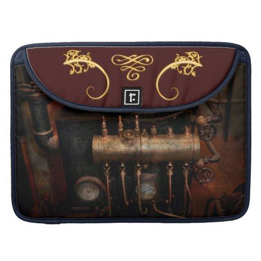 Steampunk - fontanería - la matriz de la válvula funda macbook pro