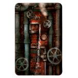 Steampunk - fontanería - tubos y válvulas iman flexible