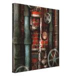 Steampunk - fontanería - tubos y válvulas lona estirada galerías