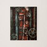 Steampunk - fontanería - tubos y válvulas puzzle con fotos