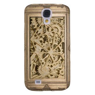 Steampunk Framed Gears Galaxy S4 Cases