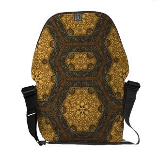 Steampunk Frames Messenger Bag