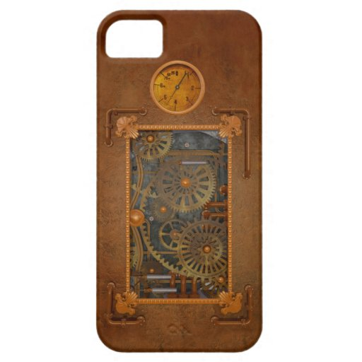 Steampunk iPhone 5 Case-Mate Protectores