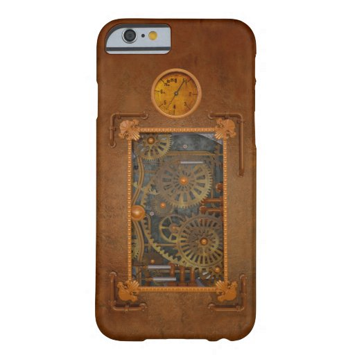 Steampunk Funda De iPhone 6 Barely There