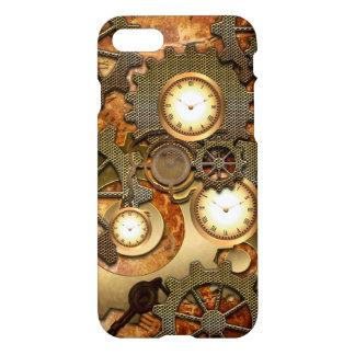Steampunk Funda Para iPhone 7