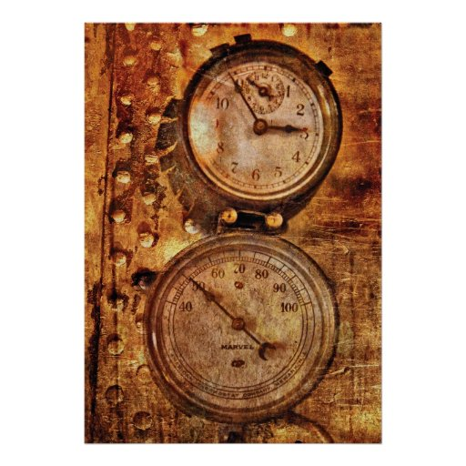 SteamPunk - Gauges Poster