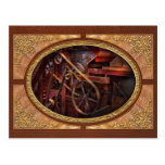 Steampunk - Gear - Belts and Wheels Post Cards