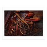 Steampunk - Gear - Belts and Wheels Postcards