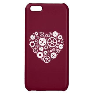 Steampunk Gear Heart iPhone 5C Cases
