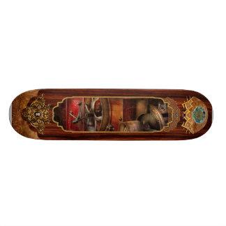 Steampunk - Gear - It used to work Skate Board Deck