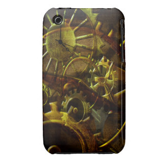 Steampunk Gears and Pipes iPhone 3 Case-Mate Case