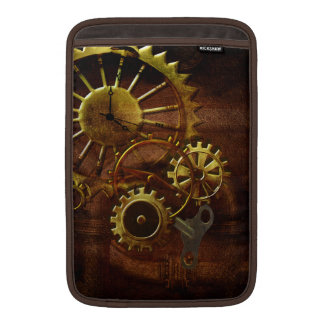 Steampunk Gears and Pipes Sleeve For MacBook Air
