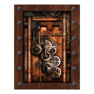 SteamPunk Gears and Rivets Letterhead  sc 1 st  Zazzle & Steampunk Steam Punk Letterhead | Zazzle
