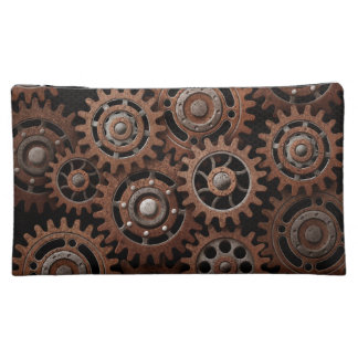 Steampunk Gears Cosmetics Bags