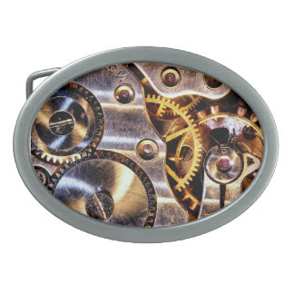 Steampunk Gears Belt Buckle