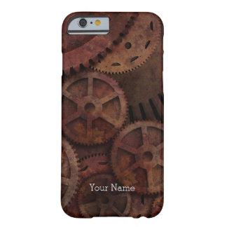 Steampunk Gears Barely There iPhone 6 Case