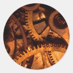 Steampunk Gears Clockwork Sticker