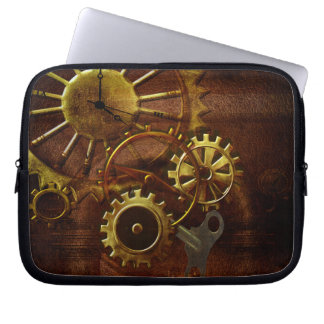 Steampunk Gears Computer Sleeve