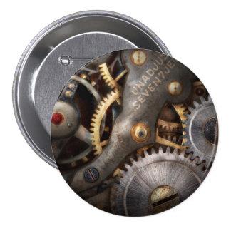 Steampunk - Gears - Horology Pinback Buttons