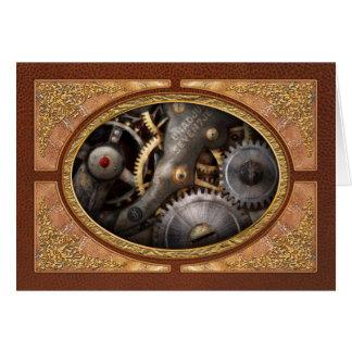 Steampunk - Gears - Horology Cards