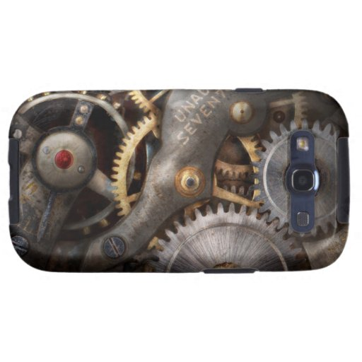 Steampunk - Gears - Horology Samsung Galaxy S3 Cases
