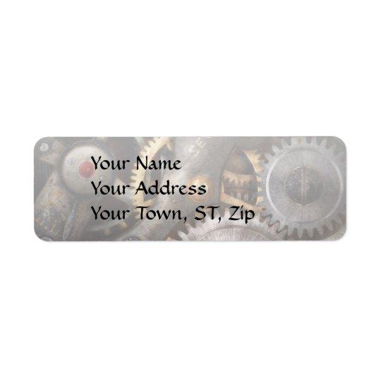 Steampunk - Gears - Horology Label