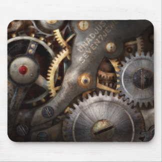 Steampunk - Gears - Horology Mousepads