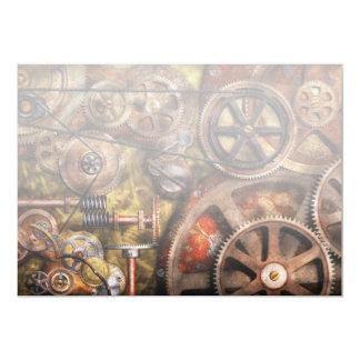 Steampunk - Gears - Inner Workings Card